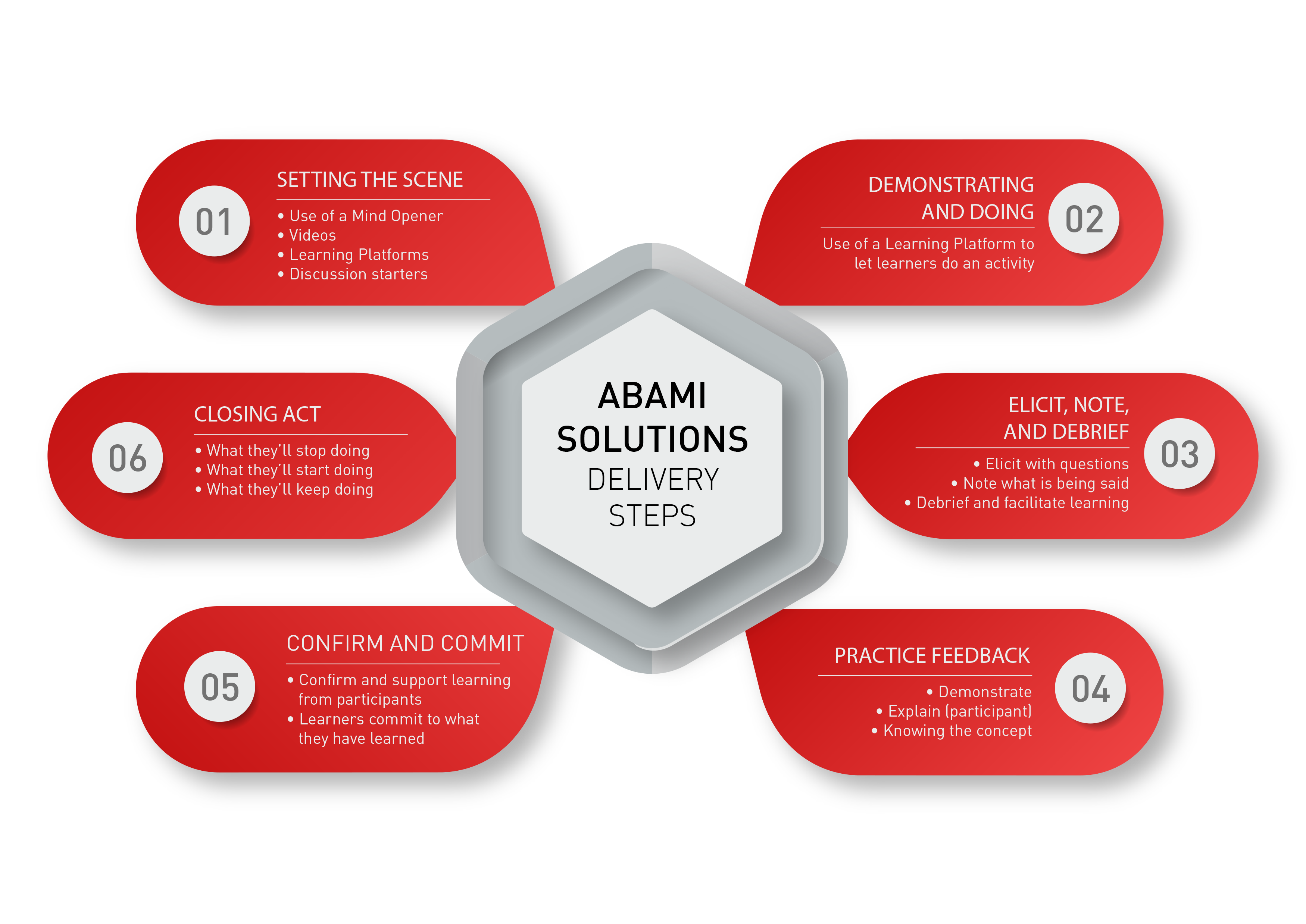 Abami Solutions Delivery Steps